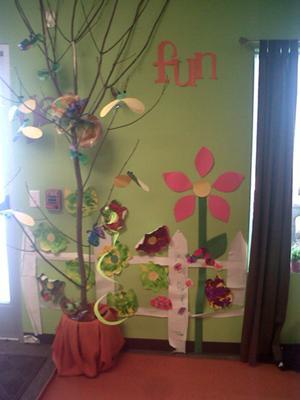 Spring Bulletin Boards For Preschool